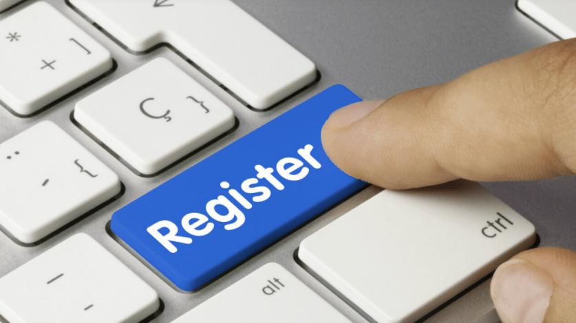 Parimatch registration
